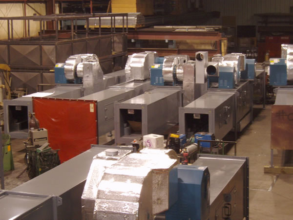 Pipe process oven